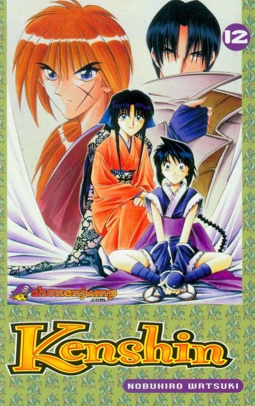 Manga Kenshin 12 Watsuki Nobuhiro