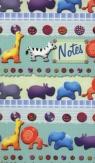 Notes bloczkowy ND 114 z długopisem Zwierzątka