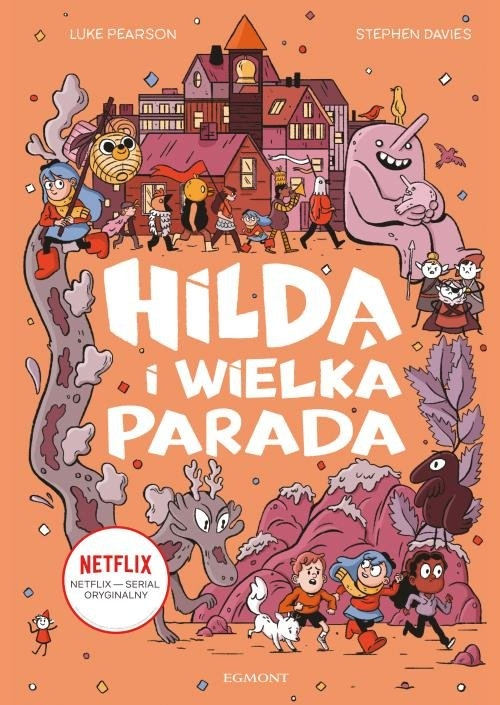 Hilda i Wielka Parada Davies Stephen