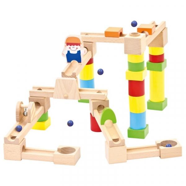 Drewniany Kulodrom 40 elementów (82071)