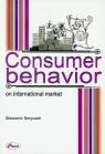 Consumer behavior on International Market Smyczek Sławomir
