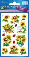 Naklejki kreatywne - kwiaty (54171)