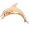 Łamigłówka drewniana Gepetto - Delfin (105688) Wiek: 6+