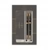 Zestaw Parker: Sonnet Duo Czarny GT, pióro wieczne i długopis (P-2093371)