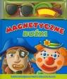 Magnetyczne buźki Książka z magnesami