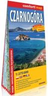 Czarnogóra laminowana mapa samochodowo-turystyczna 1:275 000