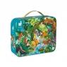 Puzzle w walizce - Przygoda w kraju Inków, 100 elementów (J02671) Wiek: