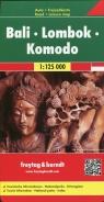 Bali Lombok Komodo Mapa 1:125 000