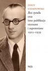 Bez tytułu oraz inne publikacje nieznane i zapomniane 1925-1939