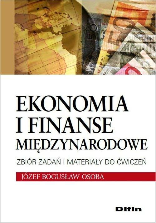 Ekonomia i finanse międzynarodowe Osoba Józef Bogusław