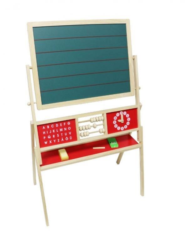 Drewniana tablica edukacyjna tradycyjna z liczydłem (ZY2371)