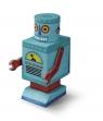 Puzzle Kreatury Robot 48 elementów