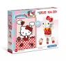 Clementoni, puzzle SuperColor 104+3D: Hello Kitty (20171)