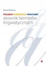Polsko-niemiecko-rosyjski słownik terminów lingwistycznych Rodziewicz Barbara