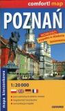 Poznań mapa kieszonkowa 1:20 000
