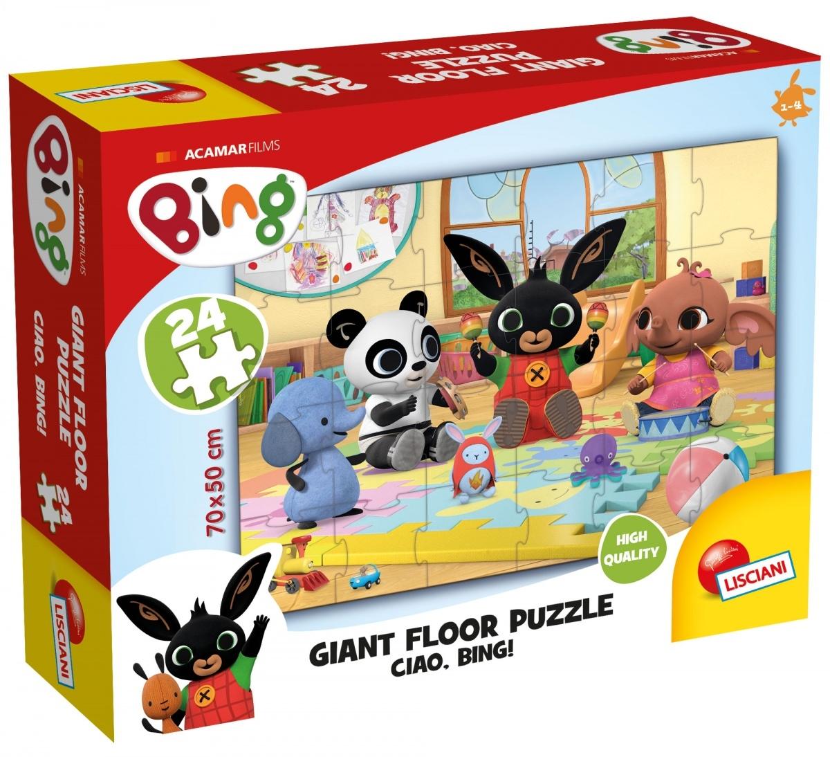 Bing - Ogromne puzzle podłogowe (304-74716)