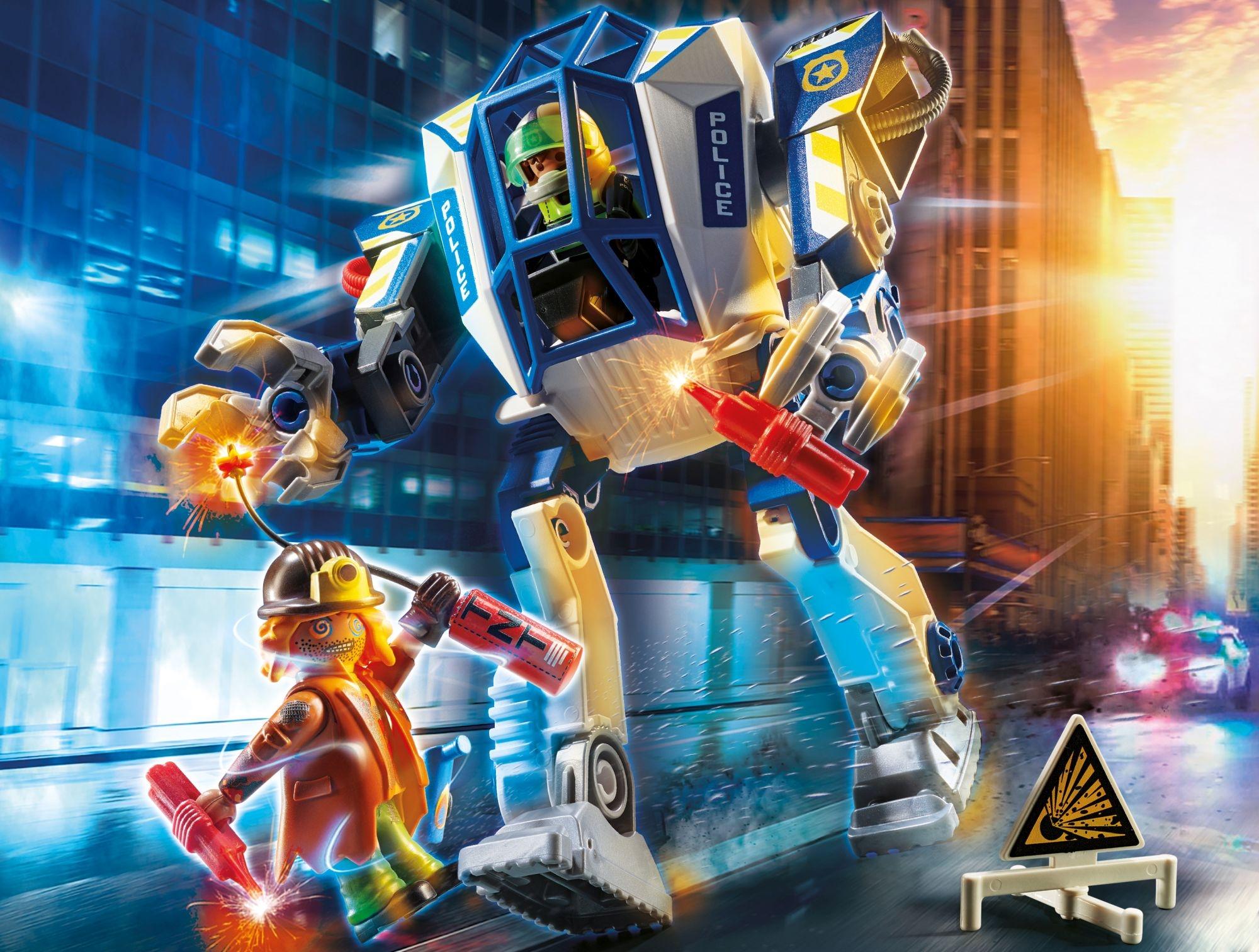 Playmobil City Action: Policyjny robot: Akcja specjalna (70571)