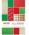 Blok Effect Merry Christmas 10 arkuszy, 5 wzorów