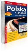 Polska atlas samochodowy 1:250 000 2020/2021