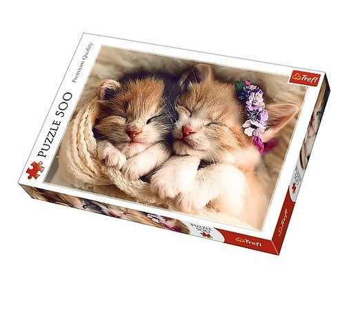 Puzzle Śpiące kotki 500 elementów