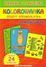 Kolorowanka zeszyt siedmiolatka Guzowska Beata