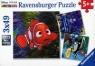 Puzzle Disney Nemo i przyjaciele 3x49 (093717)