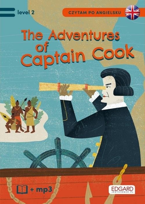 Czytam po angielsku The Adventures of Captain Cook / Przygody Kapitana Cooka Brodziak Joanna