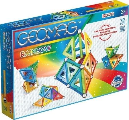 Geomag Rainbow - 72 elementy (GEO-371)