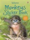 Monkey Sticker Book Laura Howell