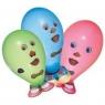 Balonik Wesołe twarze 6 sztuk