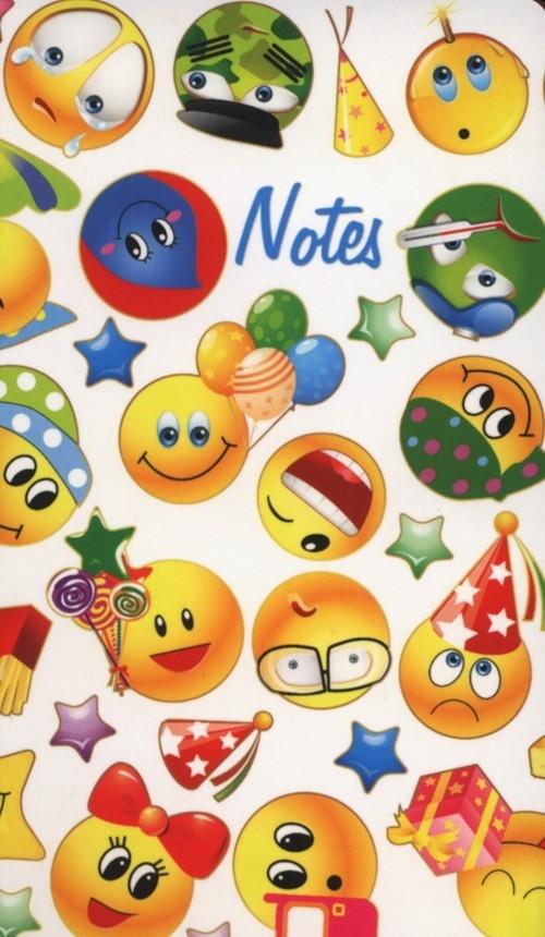Notes bloczkowy ND 117 z długopisem Emotikony