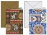 Karnet z kopertą 11,5x17cm Indian