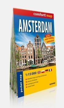 Amsterdam. Plan miasta 1:15 000 Praca zbiorowa