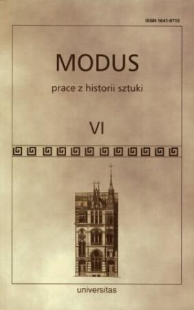 Modus. Prace z historii sztuki t. VI
