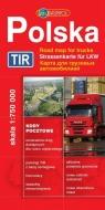 Polska mapa drogowa TIR
