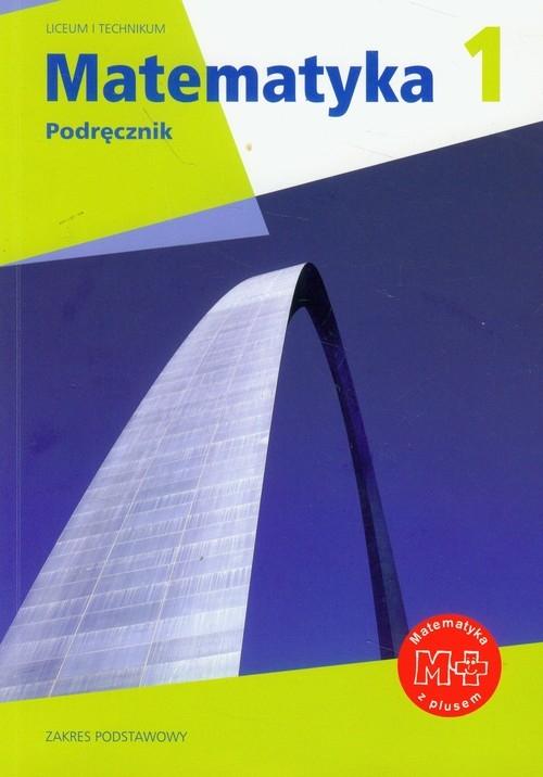 Matematyka 1 Podręcznik zakres podstawowy + multipodręcznik Karpiński Marcin, Dobrowolska Małgorzata, Braun Marcin, Lech Jacek