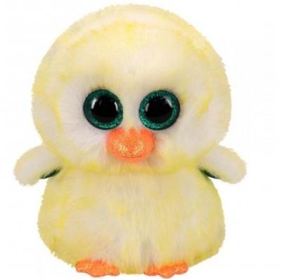 Maskotka Beanie Boos: Lemon Drop - Kurczaczek 24 cm (36471)