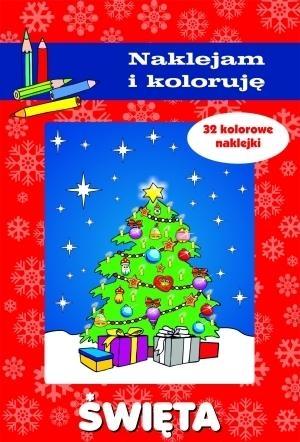 Święta Naklejam i koloruję Aleksander Małecki