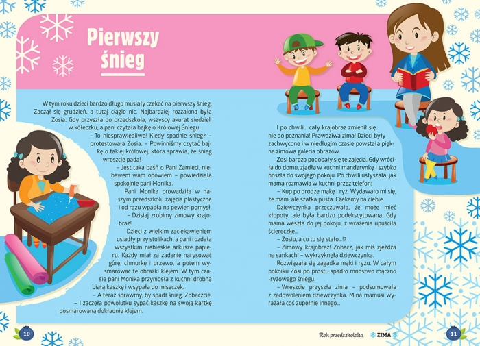 Jestem przedszkolakiem - zima BR Agnieszka Antosiewicz