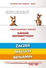Matematyka z wesołym kangurem Suplement 2019 (Żaczek/Maluch/Beniamin)