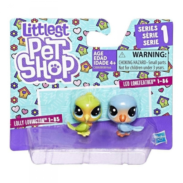 Littlest Pet Shop Dwupak, Love Birds (B9389/C3009)