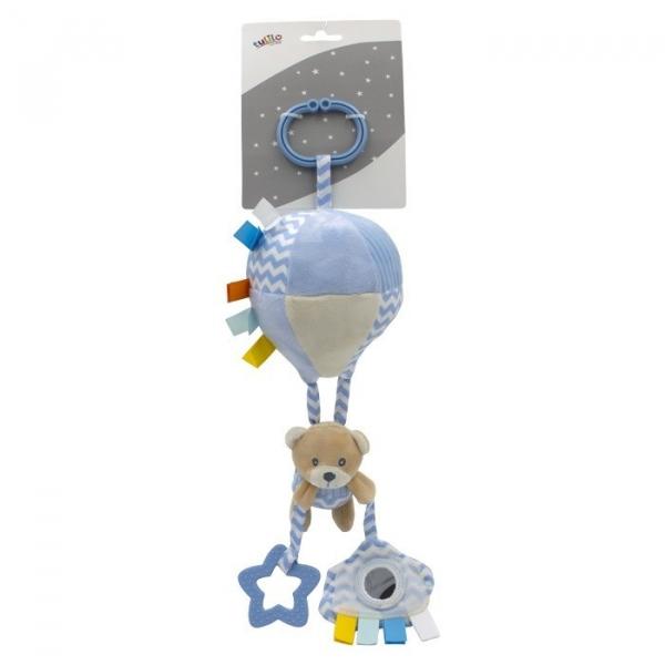 Zawieszka z dodatkami New Baby - Miś 32 cm (5131a)