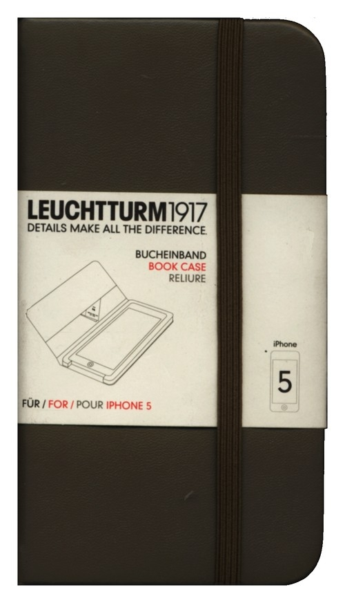 Etui iPhone 5 Leuchtturm1917 taupe