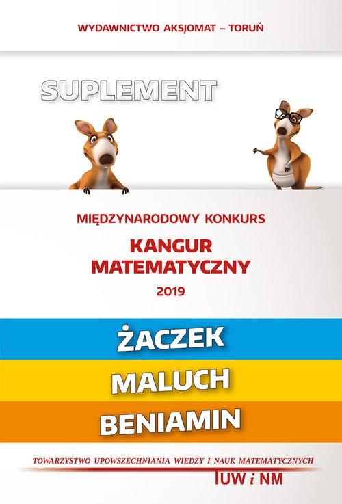 Matematyka z wesołym kangurem Suplement 2019 (Uszkodzona okładka)