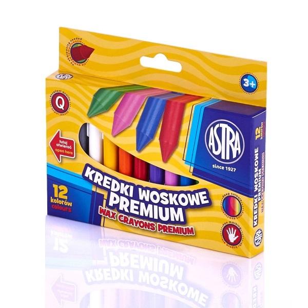 Kredki woskowe, 12 kolorów (316111001)