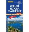 Wielkie Jeziora Mazurskie, 1:50 000 - mapa turystyczna (1567-2020)