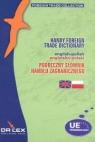 Podręczny angielsko-polski słownik handlu zagranicznego Kapusta Piotr, Chowaniec Magdalena