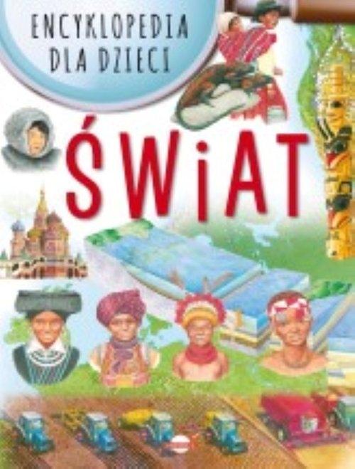 Encyklopedia dla dzieci Świat (Uszkodzona okładka)