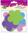Dekoracje piankowe kwiaty mix kolor 8szt.