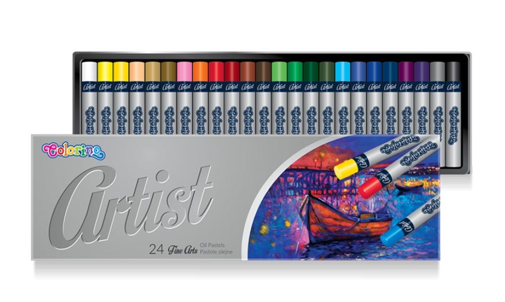 Pastele olejne Colorino Artist, 24 kolory (65719PTR)